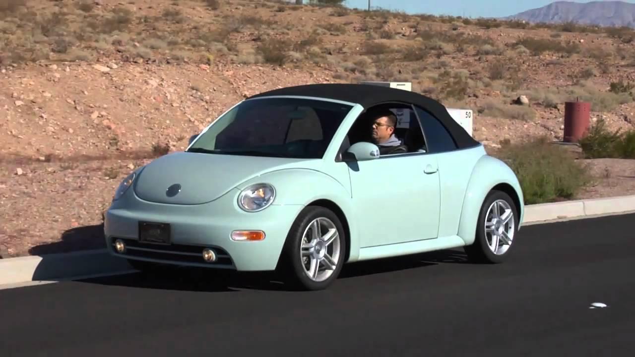 2004 Volkswagen Beetle Gls Turbo Convertible Test Drive