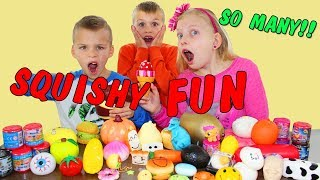 What's Inside Our Squishy Collection || Opening Surprise Toys