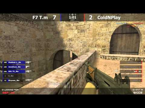 Финал турнира по cs 1 6 World Championship Cyber Sport F7 T m  vs  ColdNPlay @ by kn1fe    2 map