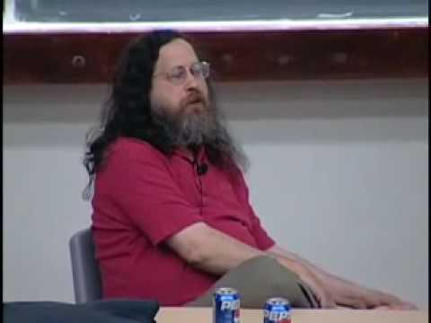 Thumb Richard Stallman se come la piel de su pie