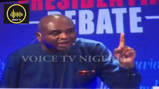 2019 Presidential Debate: Oby, Others Blast Atiku, Buhari For Backing Out