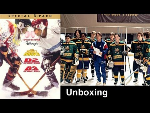 The Mighty Ducks Trilogy - 3-Pack DVD Box Set (Closer look) - (1992-1996)