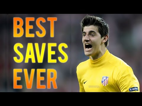 Thibaut Courtois ● Best Saves Ever ● Athletico Madrid