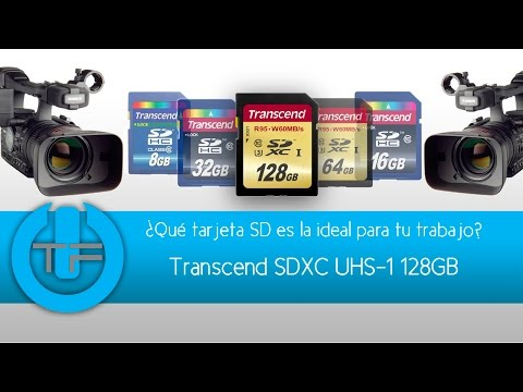 Transcend SDXC UHS 1   Co?mo escoger la tarjeta SD ideal para ti?