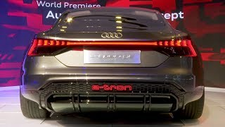 Audi e-tron GT Concept at the Los Angeles Auto Show