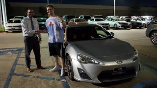 Buying a Scion FRS IN CASH!! ( DREAM CAR )