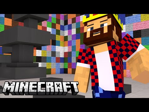 БЕГ ОТ НАКОВАЛЕН - Minecraft Наковальня Варс (Mini-Game)