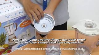 Vienta - Tips Perawatan Mata Pisau Vienta Blender