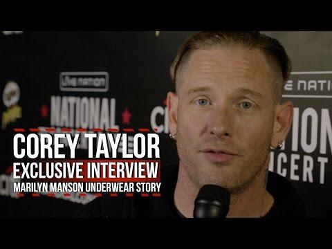 Corey Taylor Tells His Marilyn Manson Underwear Story
