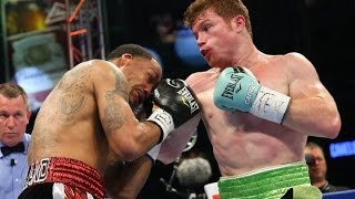 Saul Canelo Alvarez vs James Kirkland Full Fight Highlights 2015