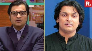 Arnab Goswami Confronts Rahul Easwar Over Attack On Republic TV