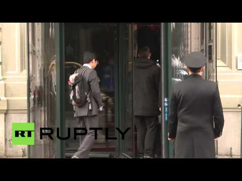 Switzerland: Chinese FM Wang Yi arrives for Iran nuclear talks