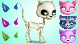 Cat Hair Salon Birthday Party Pet Care Kids Games - Play Fun Pet Kitten Care & Hair Makeover