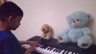 Tujhe Dekha To Ye Jana Sanam - on Piano (2017)
