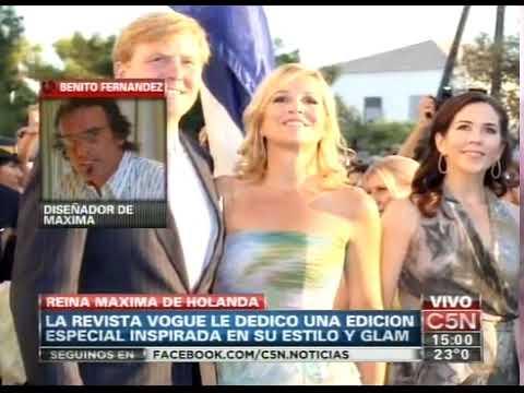 C5N - MODA: BENITO FERNANDEZ EN LA REVISTA VOGUE DE HOLANDA