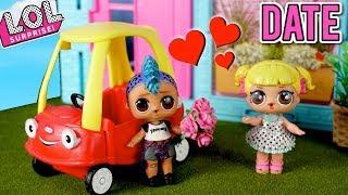LOL Dolls Punk Boi \u0026 Goldie Go On Their First Date