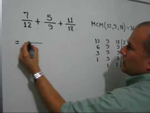Suma de fracciones heterogéneas-Unlike denominator Fraction addition