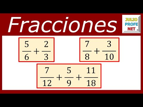 Suma de fracciones heterogneas-Sum of Fractions