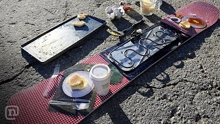 Breakfast Board! Hot Griddle Snowboard: ETT