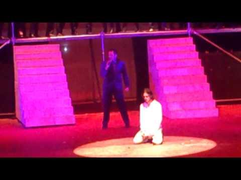 Juicio ante Pilatos (Javier Tovar) Jesucristo Super Estrella 2013 Chihuahua