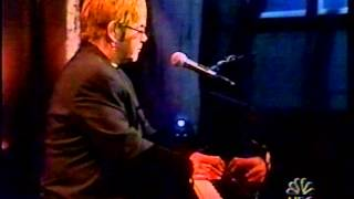 Elton John- Last Call with Carson Daly. March 26, 2002. Original Sin