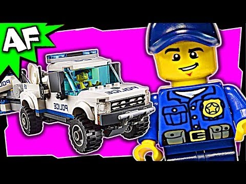 POLICE PATROL Lego City Police 60045 Building Set Review