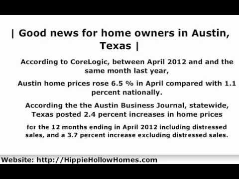 Austin Home Prices | Austin Home Prices Rose 6.5% in April 2012