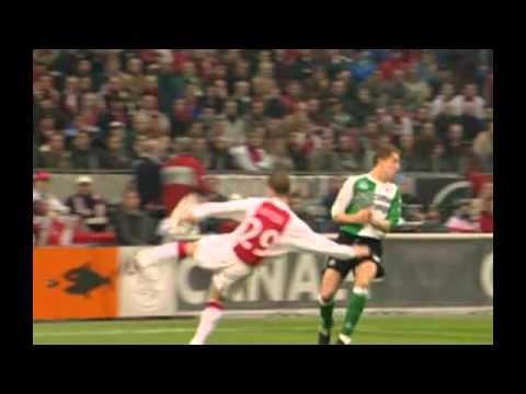 Rafael Van der Vaart - goal tegen Feyenoord