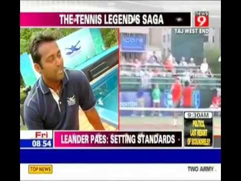 Smartpools India - News 9 - Leander Paes