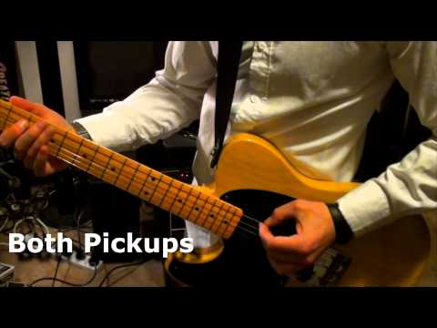 Joe Barden Pickups Danny Gatton T-Style