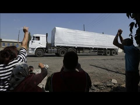 Russia Convoy Crosses Border Without Kiev's Consent