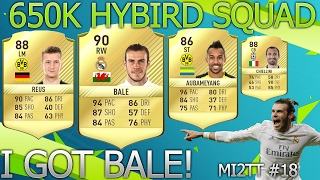 Fifa 17 I got bale! 650k hybird squad Making it 2 the top #18