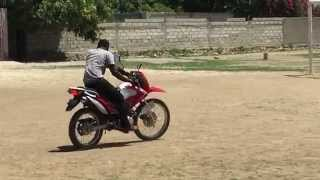 Haiti - Dirt Bike Show Off