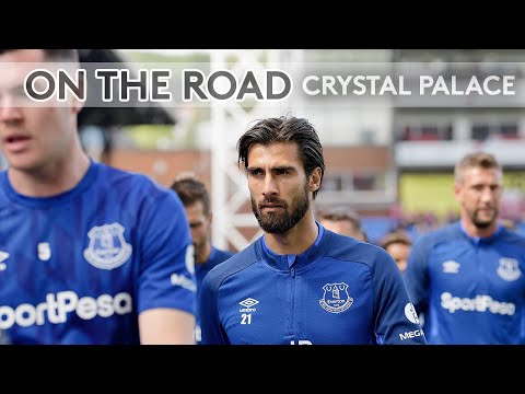 ON THE ROAD: CRYSTAL PALACE V EVERTON | BEHIND THE SCENES AT SELHURST PARK