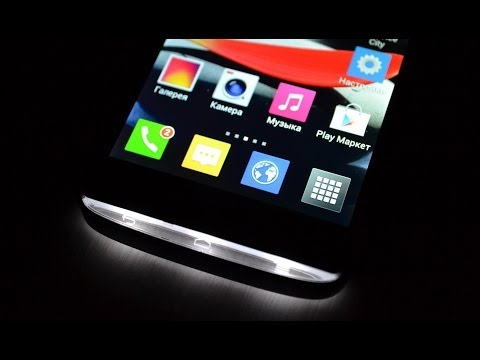Обзор Alcatel One Touch Idol Alpha с металлом и подсветкой