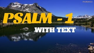 PSALM 1 -  (With Text) King James Version   Psalms 1   KJV Psalms