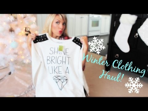 ❤ Winter Clothing Haul ❤