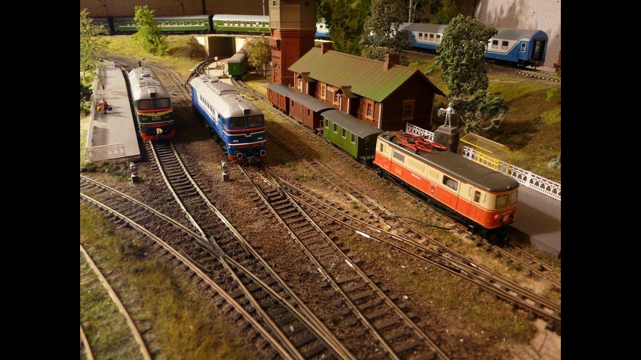 Железнодорожные рельсы своими руками