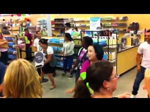 Nordstrom Rack-west covina Flash Dance Mob!