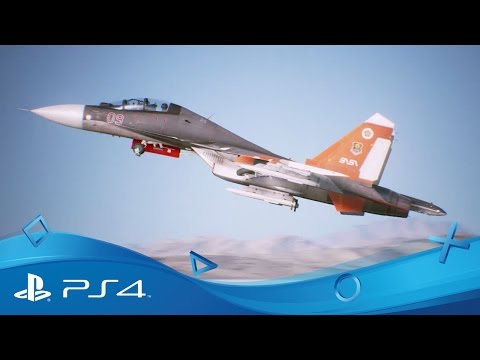 Ace Combat 7: Skies Unknown   Extended Trailer   PS4