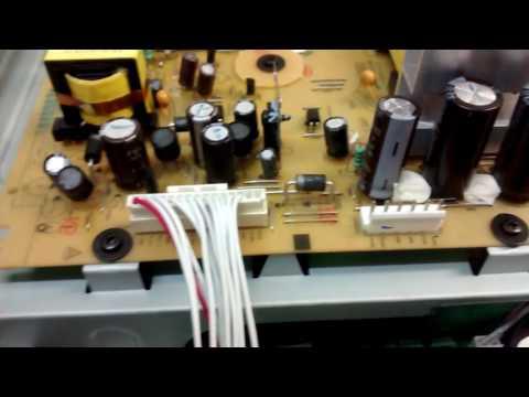 Falla equipo sonido Lg