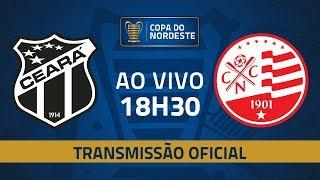 AO VIVO: Ceará x Náutico | Quartas de final | Copa do Nordeste 2019