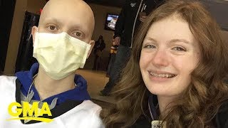 Teen with cancer to wed high school sweetheart | GMA
