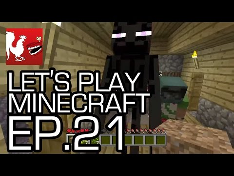 Let's Play Minecraft - Episode 21 - Stronghold Hunting in 1.8! | Rooster Teeth