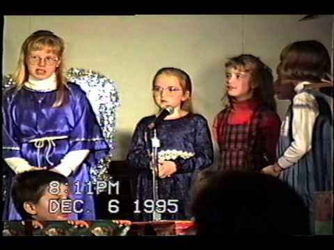 December 6, 1995 - Murphysboro Christian Academy Christmas program highlights