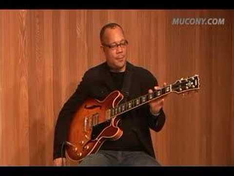 Great Guitarist Rodney Jones's Jazz Guitar Private Lesson