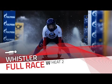 Whistler | BMW IBSF World Cup 2016/2017 - Women's Skeleton Heat 2 | IBSF Official