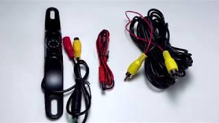 Car Backup Camera Rear View Installation : Yimaler Car Backup Camera