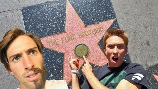 WE GOT A HOLLYWOOD STAR!!!