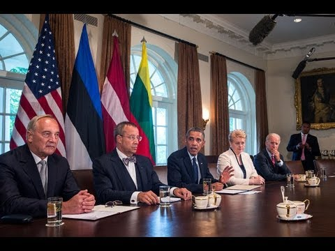 President Obama's Meeting with Baltic Leaders